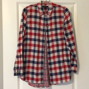 Madewell plaid shirt
